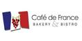 Cafe de France Menu
