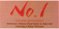 No. 1 Chinese Restaurant menu and coupons