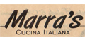 Marra's Cucina Italiana Menu