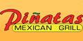 Pinatas Mexican Grill Menu
