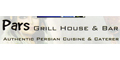 Pars Grill House menu and coupons