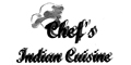 Chef's Indian Cuisine menu and coupons