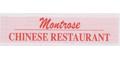 Montrose Chinese Restaurant Menu