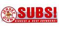 Jersey Giant Submarine Sandwiches Menu