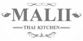 Malii Thai Kitchen Menu