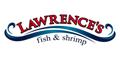 Lawrence's Fish and Shrimp Menu
