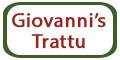 Giovanni's Trattu Menu