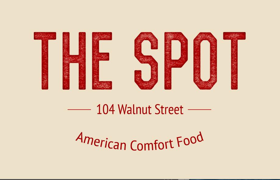 The Spot Menu