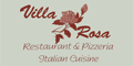 Villa Rosa Pizzeria Menu