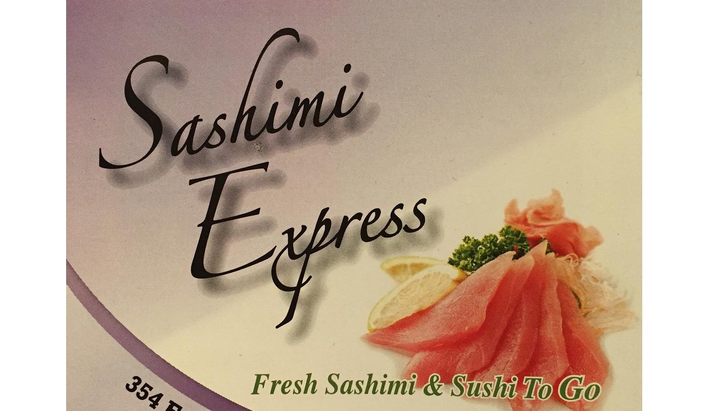Sashimi Express Menu