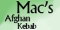 Afghan Kebob House Menu