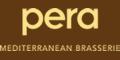 Pera Mediterranean Brasserie Menu