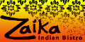 Zaika Indian Bistro Menu