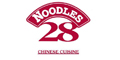 Noodles 28 menu and coupons