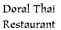Doral Thai Restaurant Menu