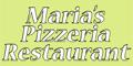 Maria's Pizzeria Restaurant Menu