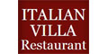 Italian Villa Menu