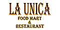 La Unica Food Mart Menu