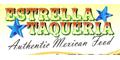 Estrella Taqueria Menu