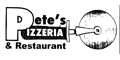 Pete's Pizzeria Menu