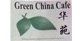 Green China Cafe Menu