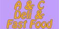 A & C Fast Food Menu