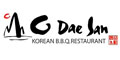 O Dae San Korean BBQ Menu