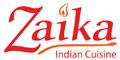 Zaika Indian Cuisine Menu