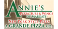 Annie's Pizza & Subs Menu