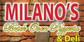 Milano's Brick Oven Pizzeria & Deli Menu