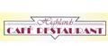 Highlands Cafe Restaurant Menu