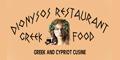 Dionysos Restaurant Menu