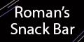 Romans Snack Bar Menu