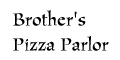 Brother's Pizza Parlor menu and coupons