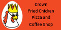 Crown Fried Chicken Pizza & Coffee Shop Menu