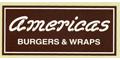 Americas Burgers And Wraps Menu