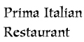 Prima Italian Restaurant menu and coupons