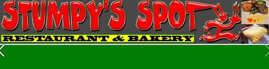 Stumpy's Spot menu and coupons