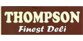 Thompsons Finest Deli menu and coupons