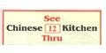 See Thru Chinese Kitchen Menu
