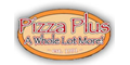 Pizza Plus A Whole Lot More Menu