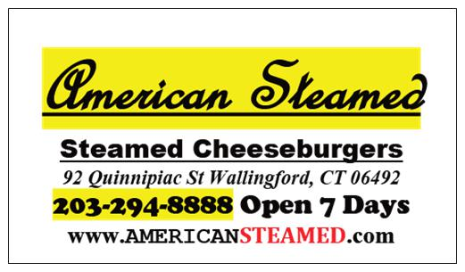 American Steamed Cheeseburgers Menu
