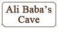 Ali Baba's Cave Menu