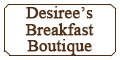 Desiree's Breakfast Boutique Menu