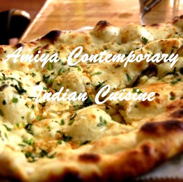 Amiya Contemporary Indian Cuisine Menu