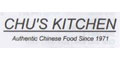 Chu's Kitchen menu and coupons