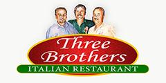 Three Brothers Italian Restaurant Menu