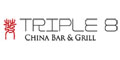 Triple 8 China Bar & Grill Menu