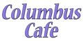 Columbus Cafe Menu