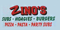 Zino's Subs & Pizza Menu